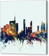Milan Italy Skyline Canvas Print