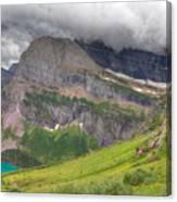Montana-glacier National Park-grinnell Glacier Trail Canvas Print