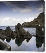 Natural Pools In Porto Moniz, Madeira Canvas Print