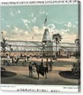 New Orleans, Fair, 1884.  Canvas Print