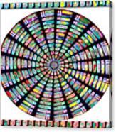 Novino Sale Fineart Chakra Mandala Round Circle Inspirational Healing Art At Fineartamerica.com By N Canvas Print