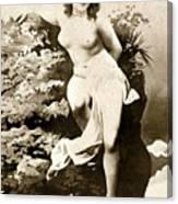 Nude Posing, C1900 Canvas Print