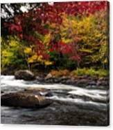 Ontario Autumn Scenery Canvas Print