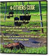 4-others Code Canvas Print