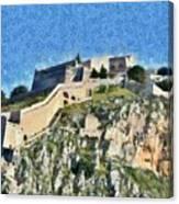 Palamidi Castle Canvas Print