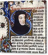 Petrarch (1304-1374) Canvas Print