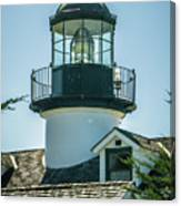 Point Pinos Lighthouse In Monterey California Canvas Print