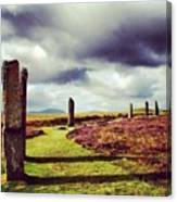 Ring Of Brodgar Canvas Print