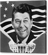 Ronald Reagan (1911-2004) Canvas Print