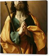 Saint James The Greater, Canvas Print