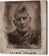 Samuel Beckett 02 Canvas Print