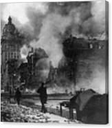 San Francisco Earthquake Canvas Print