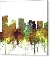 Scottsdale Arizona Skyline Canvas Print