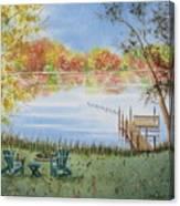 4 Seasons-autumn Canvas Print
