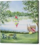 4 Seasons-summer Canvas Print