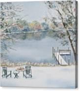4 Seasons-winter Canvas Print