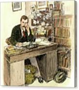 Sir Arthur Conan Doyle Canvas Print