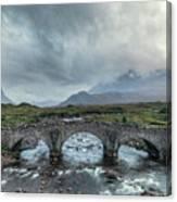 Sligachan - Isle Of Skye Canvas Print