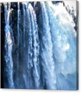 Snoqualmie Falls Washington State Nature In Daylight Canvas Print