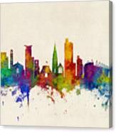 Southampton England Skyline Canvas Print