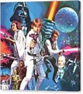 Star Wars A Poster Canvas Print
