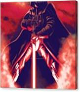 Star Wars On Art Canvas Print