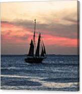 Sunset Key West  Canvas Print