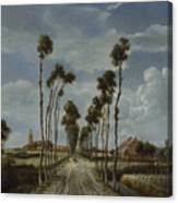 The Avenue At Middelharnis Canvas Print