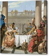 The Banquet Of Cleopatra Canvas Print