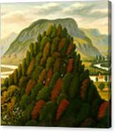 The Connecticut Valley Canvas Print
