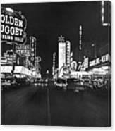 The Las Vegas Strip Canvas Print