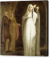 The Sleepwalking Scene Act V Scene I From Macbeth Henry Pierce Bone Canvas Print