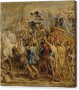 The Triumph Of Henry Iv Canvas Print