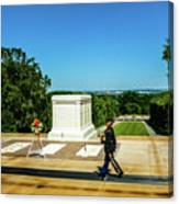 Tomb Of The Unknowns Canvas Print