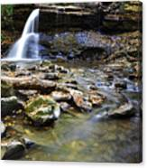 Upper Falls Holly River State Park Canvas Print