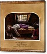 Wallis Henry The Death Of Chatterton2 Henry Wallis Canvas Print