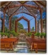 Wayfarers Chapel Canvas Print