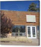 Western Storefront Canvas Print