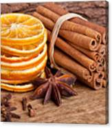 Winter Spices Canvas Print