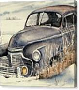 40 Chevy Canvas Print