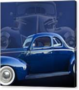 40 Ford Coupe Canvas Print