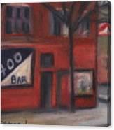 400 Bar Minneapolis Canvas Print