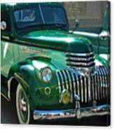 41 Chevy Truck Canvas Print