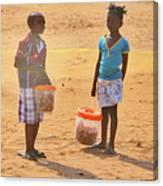 Mozambique Canvas Print