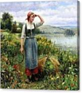 41194 Daniel Ridgway Knight Canvas Print