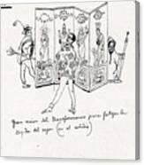 41601 Carlos Saenz De Tejada Canvas Print