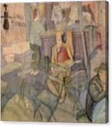 41628 Carlos Saenz De Tejada Canvas Print