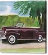 42 Chevy Canvas Print