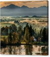 Country Landscapes Canvas Print