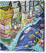 42nd And 8th Street Canvas Print